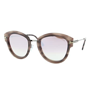 72caa797013 Tom Ford MIA-02 FT-574 55Z Women Pink Havana Rounded Cat-Eye ...