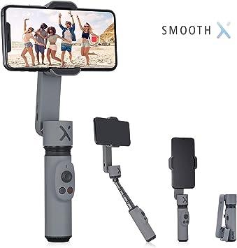 Zhiyun Smooth X 2 Ejes estabilizador cardán para iPhone 11 Pro XS ...
