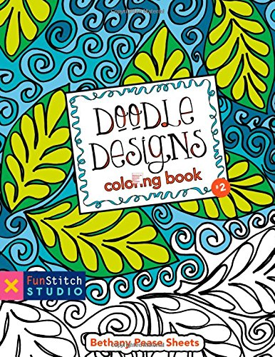CT PUBLISHING Doodle Designs Coloring Book 18 Fun See How Colors Play Together Click Image To Open Expanded View