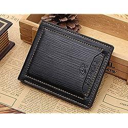 JD Million shop Famous Brand Money Bag Designer Luxury Small Short Men Leather Wallet Portfolio Male Clutch Coin Purse Walet Cuzdan Portomonee