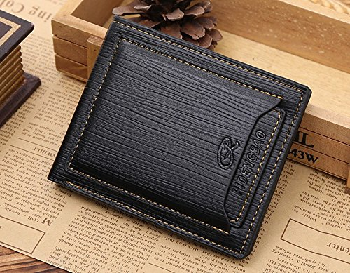JD Million shop Famous Brand Money Bag Designer Luxury Small Short Men Leather Wallet Portfolio Male Clutch Coin Purse Walet Cuzdan Portomonee