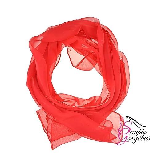Bufanda llana clásica de seda de la seda de la bufanda de la gasa de la sensación bufandas del hijab...