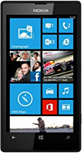 Nokia Lumia 520 - Teléfono móvil libre, color negro (importado ...