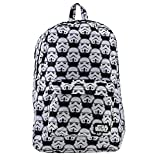 Cheap Loungefly Star Wars Storm Trooper Print Backpack