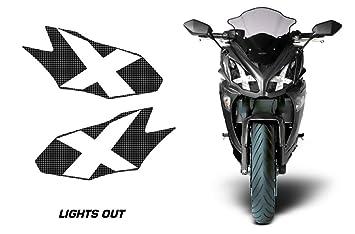 Amazon.com: AMR Racing Sport Bike Headlight Eye Graphic ...