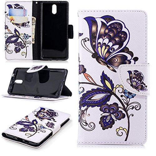 Cuir Nokia Flip 3 BONROY Housse Coque 2018 1 PU fqd0dY