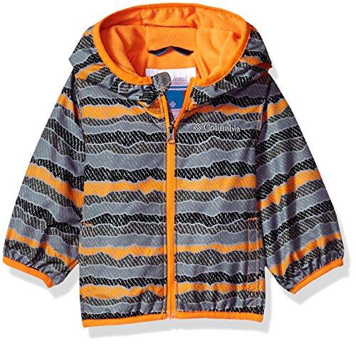 Solar Stripe - Columbia Sportswear Baby Mini Pixel Grabber Ii Wind Jacket Outerwear, solar stripe, 3/6