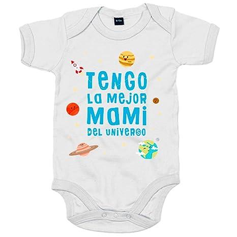 Body bebé Tengo la mejor mami del universo - Blanco, 6-12 ...