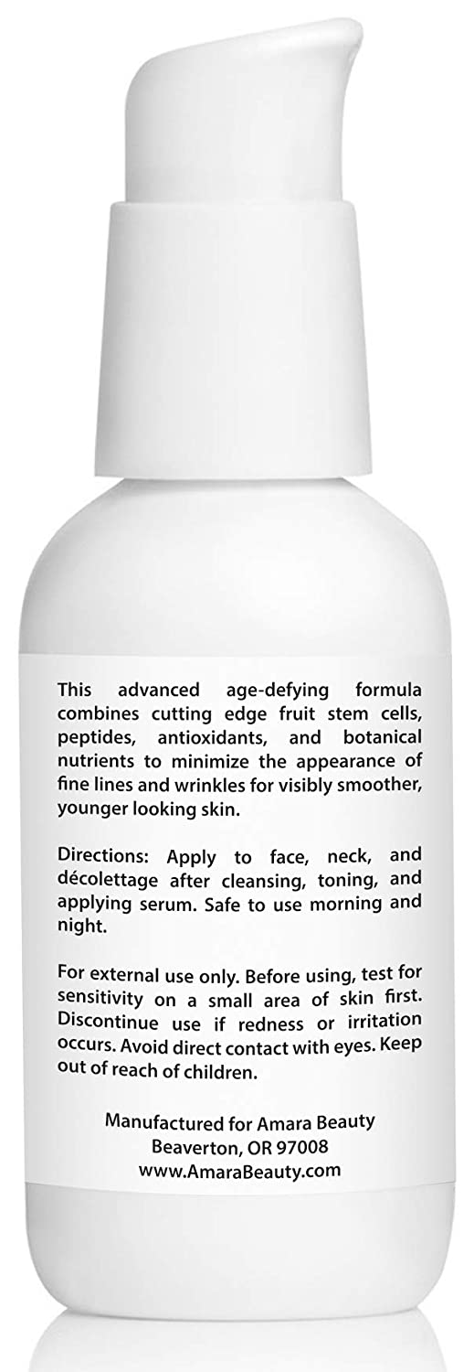 Anti Aging Face Cream Moisturizer with Resveratrol & Peptides, 2 fl. oz.: Beauty