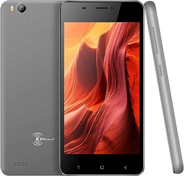 Kenxinda V6 3G Smartphone - 1GB RAM 8GB ROM, 4.5 Inch, Android 7.0, SC7731C Quad Core, 1.2GHz 2.0MP Rear Camera: Amazon.es: Electrónica