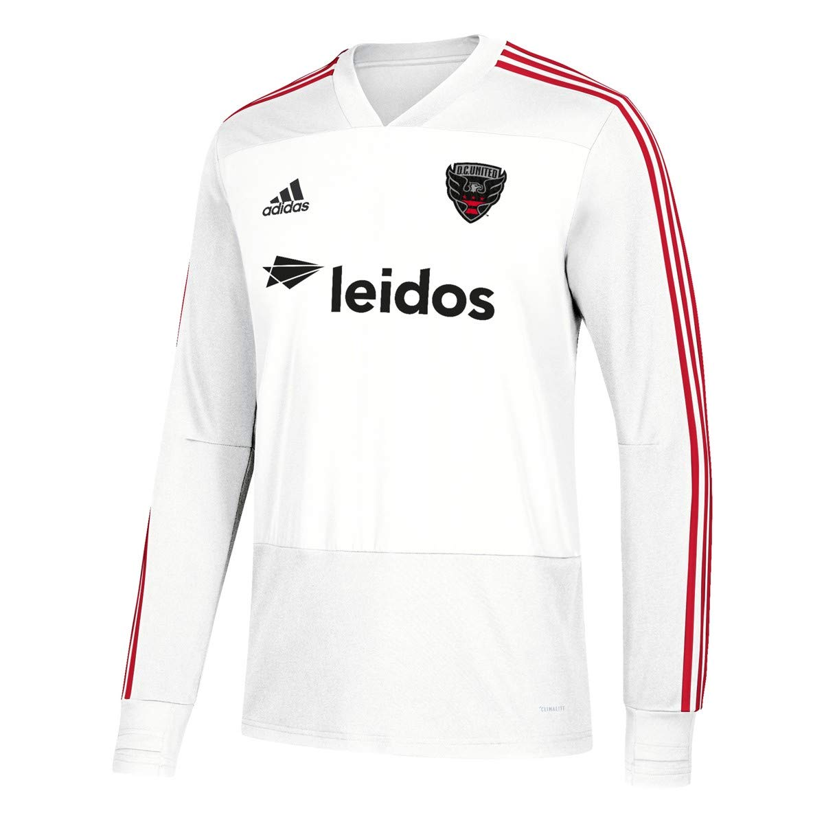 premium selection ca940 ca458 Amazon.com : adidas D.C. United MLS Men's White Climacool ...