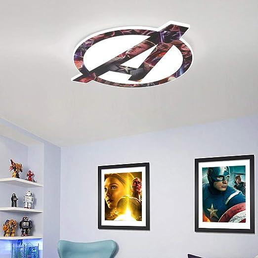 Lámpara de techo LED moderna Creativa The Avenger Lámpara para ...