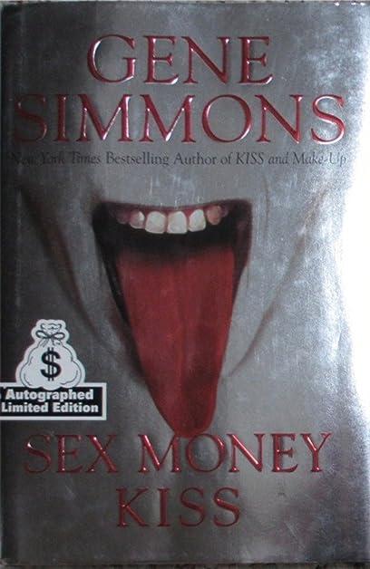 Gene simmons sex money kiss autographed