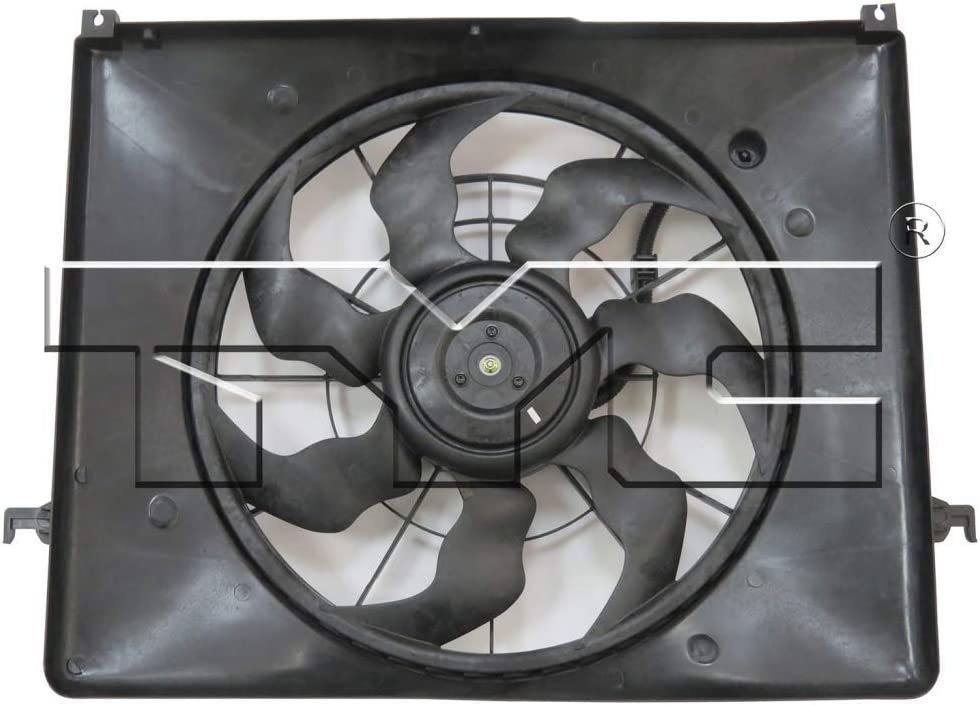 For Hyundai Sonata Radiator/Condenser Cooling Fan Assembly 2009 2010 2.4L For HY3115134 | 25380-0A170