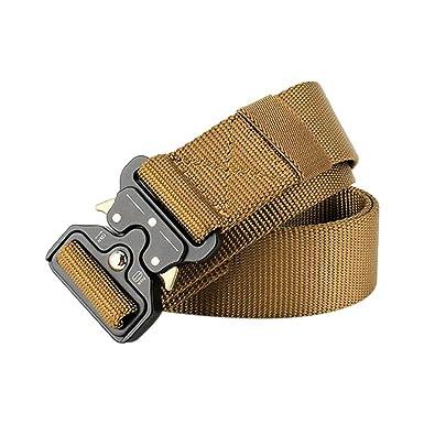 zarupeng✦‿✦ Cinturón de Lona táctico de Seguridad Cinturón ...