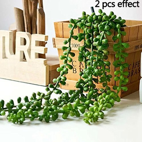 Artificial Succulent Plants, String of Pearls, 28
