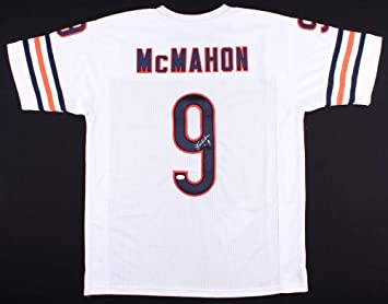7806bfbf2f3 Jim McMahon Autographed White Chicago Bears Jersey - Hand Signed By Jim  McMahon and Certified Authentic