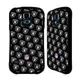 Official NFL Patterns 2017/18 Oakland Raiders Hybrid Case for Samsung Galaxy S6 edge