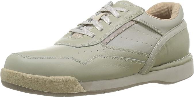 TALLA 42 EU. Rockport M7100 Milprowalker Sport White/Wheat, Zapatos de Cordones Derby para Hombre