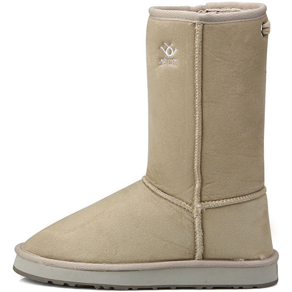 New Ivory Shearling Womens Winter Snow Warm Boots