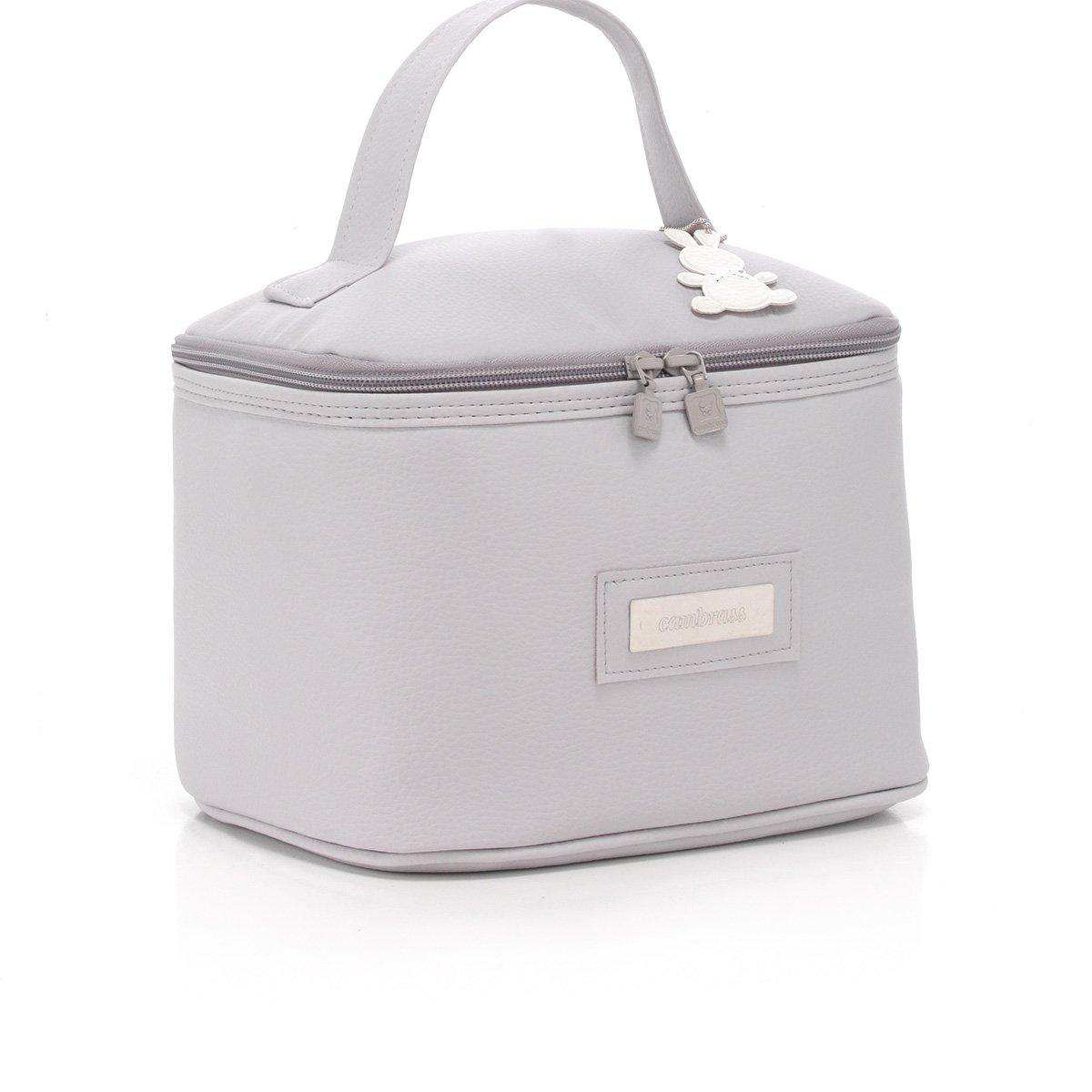 Cambrass Elegance - Bolso neceser mini, color blanco 35542.0