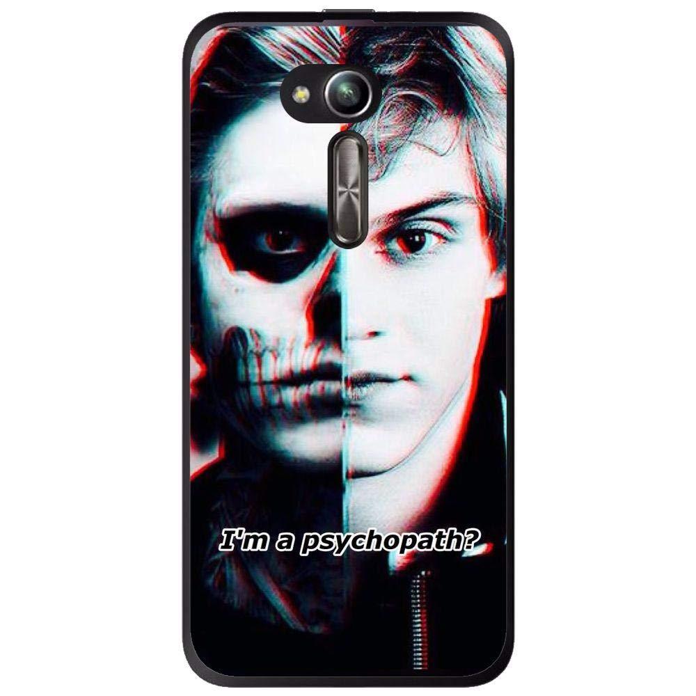 Amazon.com: Silicone Case Psychopath Asus Zenfone Go Zb500kl ...