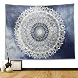 Dremisland Indian Wall Decor Hippie Tapestries Bohemian Mandala Tapestry Wall Hanging Throw (L, Gradient Pattern)