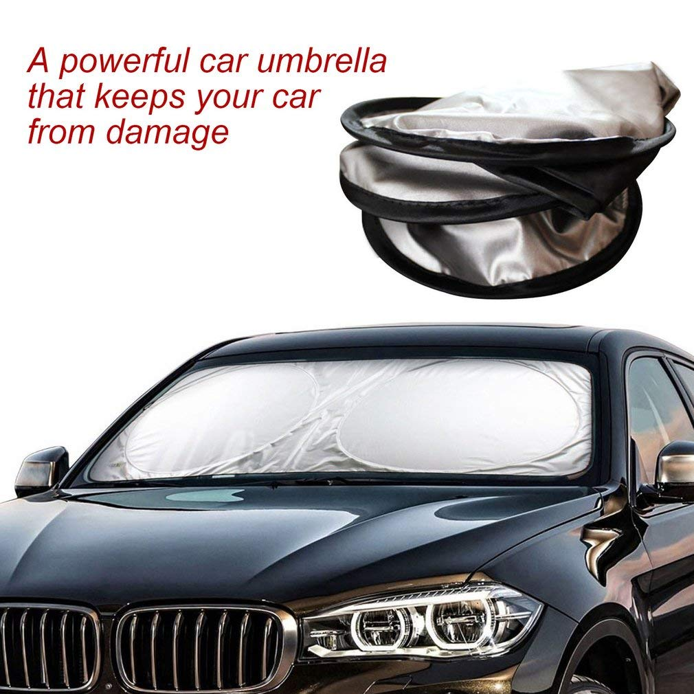 Snner Auto Veicoli Auto Finestra Anteriore del Parabrezza Pieghevole della Visiera Riflettente UV Parasole