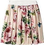 Dolce & Gabbana Kids Baby Girl's Skirt (Toddler/Little Kids) Rose Print 2T (Toddler)