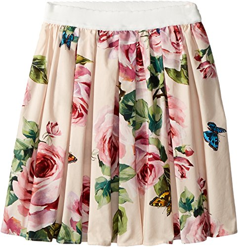 Dolce & Gabbana Kids Baby Girl's Skirt (Toddler/Little Kids) Rose Print 2T (Toddler) by Dolce & Gabbana