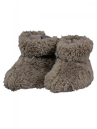 Barts-Calzado marrón bebé forro polar para niño de 3 a 12 meses Barts, Marrón (marrón), TU - 3/12 Mois