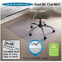 ES Robbins Foldable Rectangle Chair Mat, 36 x 48 (ESR120082)