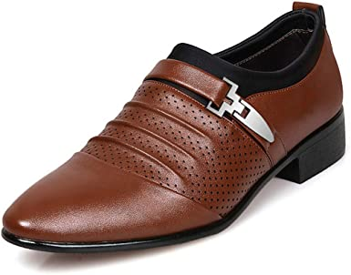 Dress Pointed Leather Shoes Large