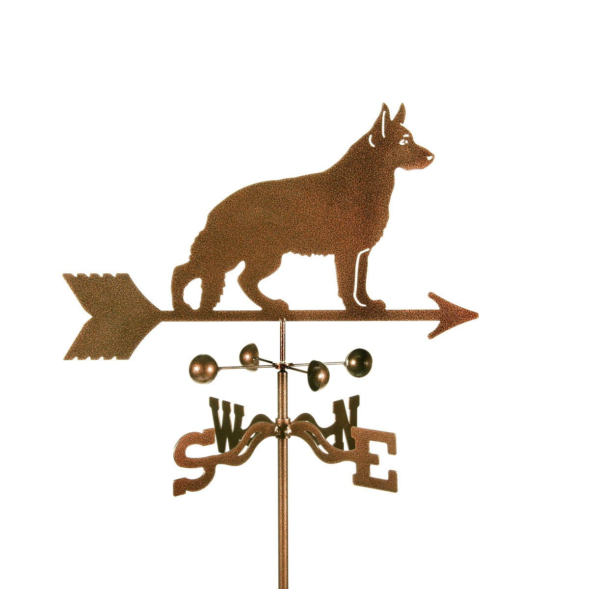 Dog - Geman Shepherd Roof Mount Weathervane