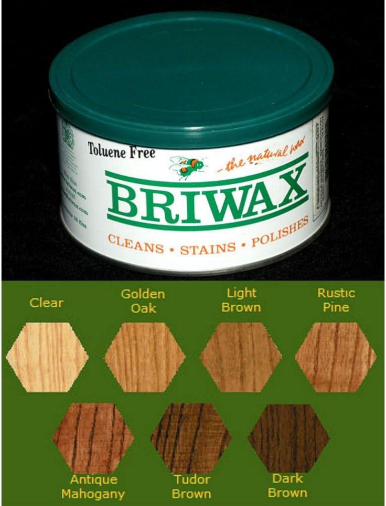Briwax Toluene Free Furniture Wax 16 oz - Antique Mahogany