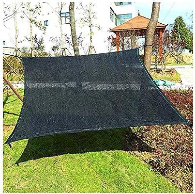 ANHPI Red de sombreado Cifrado Aislamiento térmico Sombrilla de Red Polietileno Anti-UV Verano Cubierta de pérgola para jardín de Invernadero (Color : Black, Size : 4×8m): Amazon.es: Hogar