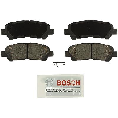 Bosch BE1325 Blue Disc Brake Pad Set for 2008-13 Toyota Highlander - REAR: Automotive