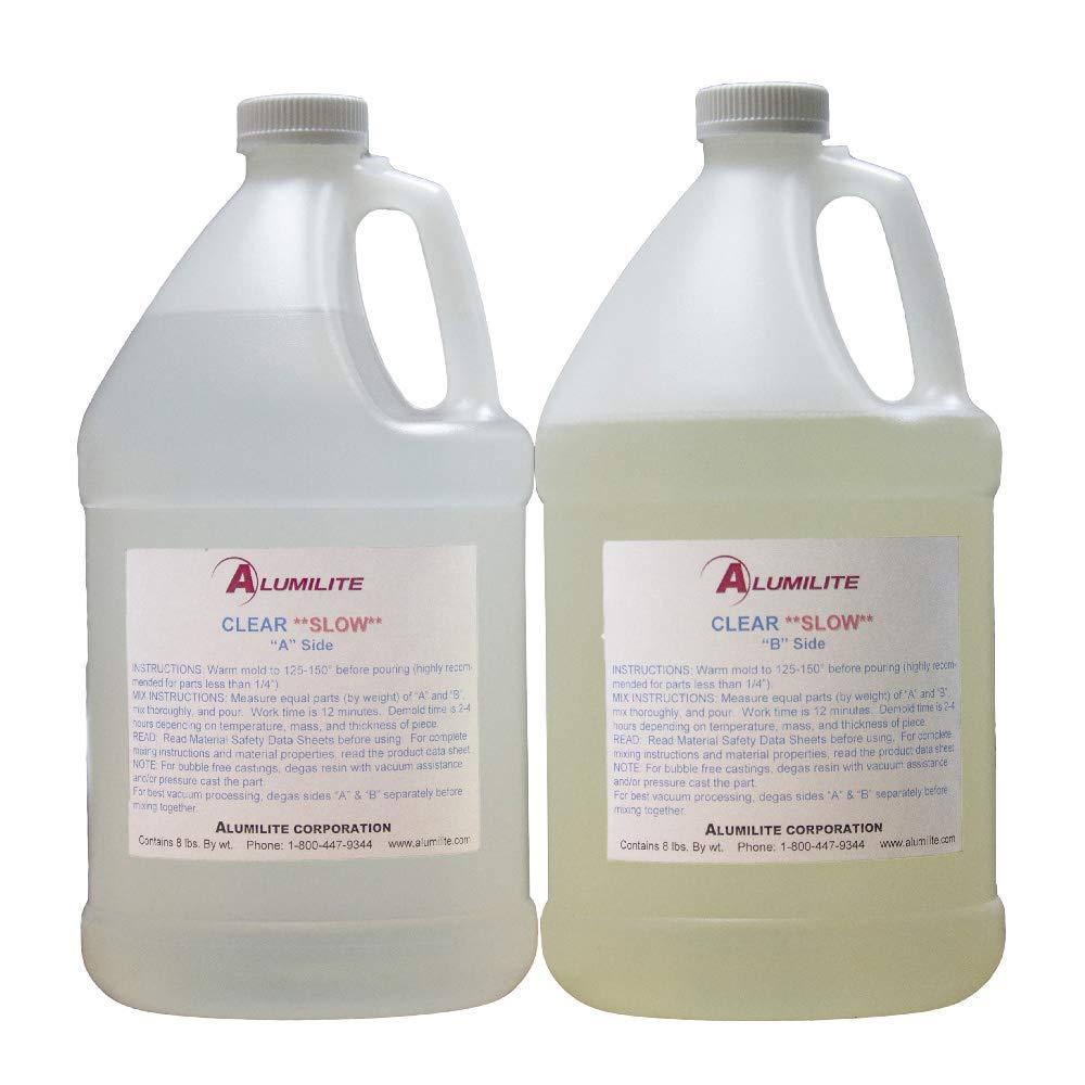 Alumilite Clear (Slow) Urethane Casting Resin (2 Gallon)