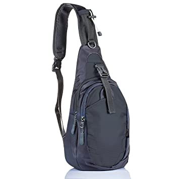 d04b0b589bae Sling Bag, Tiny Compact One Shoulder Backpack, for Hiking Theme Parks Day  Trips, by LC Prime