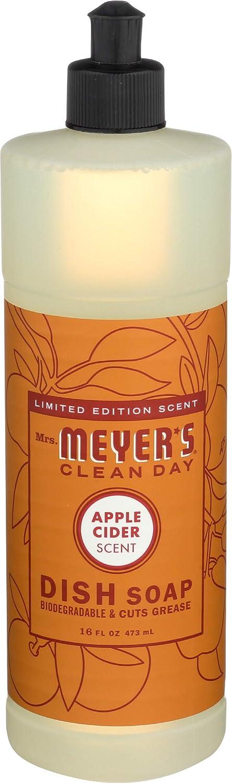 Mrs. Meyer's Liquid Dish Soap Apple Cider 16 OZ (Pack - 1)