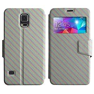 LEOCASE lindo perro Funda Carcasa Cuero Tapa Case Para Samsung Galaxy S5 I9600 No.1006564