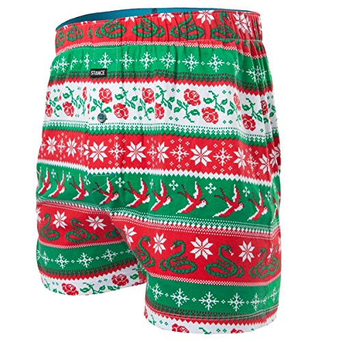 Stance Men's Stocking Stuffer Boxer Shorts, Multi, L (Best Boxer Shorts Uk)