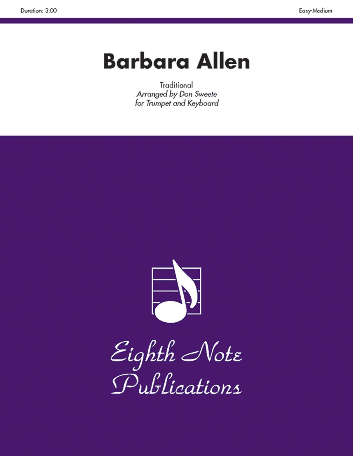 Download Barbara Allen (Part(s)) (Eighth Note Publications) pdf epub