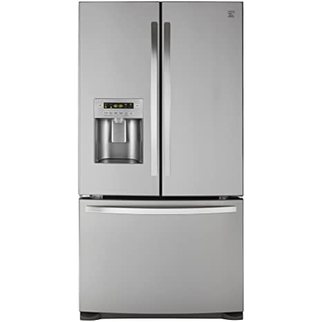Amazon Kenmore 73055 268 Cu Ft French Door Bottom Freezer