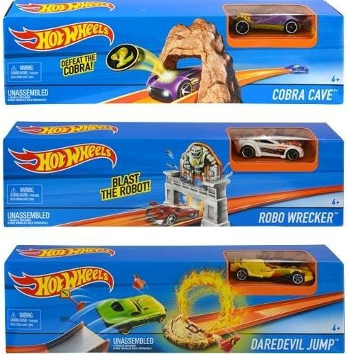 Hot Wheels - Mega rampa de Salto, Exclusivo 1 (Mattel DNN78 ...