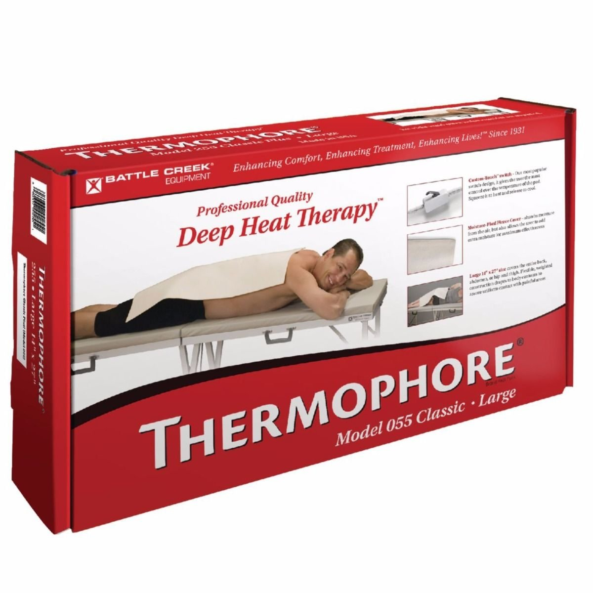 "Thermophore Classic and Classic Plus!, Classic Plus, Large, 14"" x 27"""