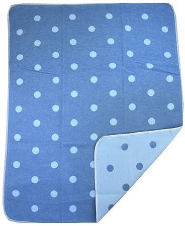 Amazon.com: Juwel Azul y Azul Claro, manta para bebé, diseño ...