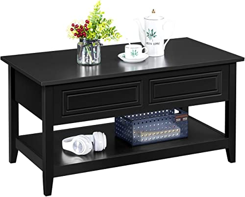 Topeakmart Lift Top Coffee Table Center Table