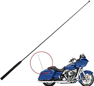 """33/"""" AM FM Antenna Fit For Harley Touring Street Glide Electra 86-13 ULTRA FLHX"""