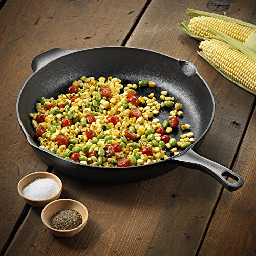 Make hash with a cast iron skillet